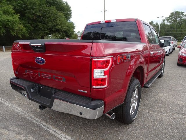 2019 Ruby Red Metallic Tinted Clearcoat Ford F-150 XLT Truck 4X4 EcoBoost 3.5L V6 GTDi DOHC 24V Twin Turbocharged Engine