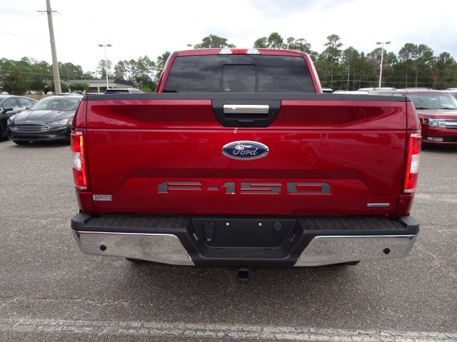 2019 Ruby Red Metallic Tinted Clearcoat Ford F-150 XLT Automatic EcoBoost 3.5L V6 GTDi DOHC 24V Twin Turbocharged Engine Truck 4 Door
