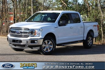 2019 Oxford White Ford F-150 Truck 4X4 Automatic 4 Door