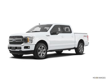 2019 Oxford White Ford F-150 XLT 4X4 4 Door EcoBoost 3.5L V6 GTDi DOHC 24V Twin Turbocharged Engine Automatic Truck