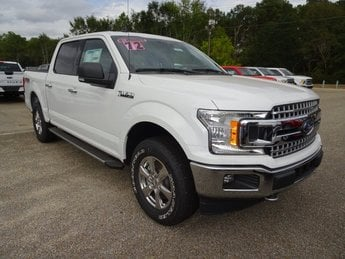 2019 Oxford White Ford F-150 XLT 4X4 Automatic EcoBoost 3.5L V6 GTDi DOHC 24V Twin Turbocharged Engine Truck 4 Door