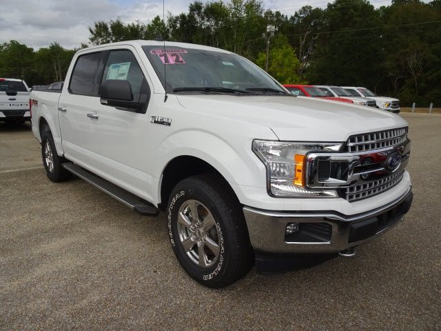 2019 Ford F-150 XLT Truck EcoBoost 3.5L V6 GTDi DOHC 24V Twin Turbocharged Engine 4 Door 4X4
