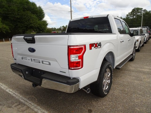 2019 Oxford White Ford F-150 XLT 4 Door EcoBoost 3.5L V6 GTDi DOHC 24V Twin Turbocharged Engine 4X4