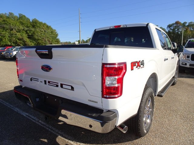 2019 Oxford White Ford F-150 XLT 4 Door Automatic EcoBoost 3.5L V6 GTDi DOHC 24V Twin Turbocharged Engine Truck