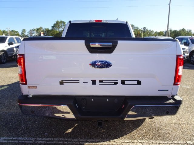 2019 Oxford White Ford F-150 XLT Automatic EcoBoost 3.5L V6 GTDi DOHC 24V Twin Turbocharged Engine 4 Door Truck 4X4