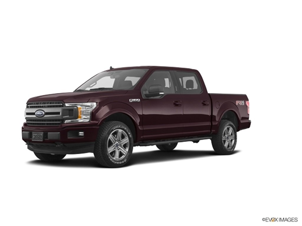 2019 Magma Red Ford F-150 XLT Automatic 4X4 4 Door EcoBoost 3.5L V6 GTDi DOHC 24V Twin Turbocharged Engine