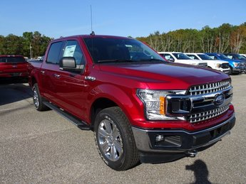 2019 Ruby Red Metallic Tinted Clearcoat Ford F-150 XLT EcoBoost 3.5L V6 GTDi DOHC 24V Twin Turbocharged Engine 4X4 4 Door Automatic Truck