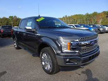2019 Magnetic Metallic Ford F-150 Lariat 4X4 Automatic EcoBoost 3.5L V6 GTDi DOHC 24V Twin Turbocharged Engine Truck 4 Door