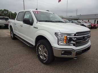 2019 Oxford White Ford F-150 XLT 4X4 4 Door Automatic Truck