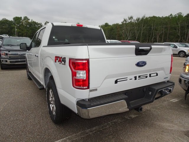2019 Oxford White Ford F-150 XLT 4X4 Automatic EcoBoost 3.5L V6 GTDi DOHC 24V Twin Turbocharged Engine 4 Door Truck