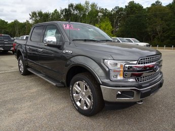 2019 Magnetic Metallic Ford F-150 Lariat 4 Door 4X4 5.0L V8 Ti-VCT Engine