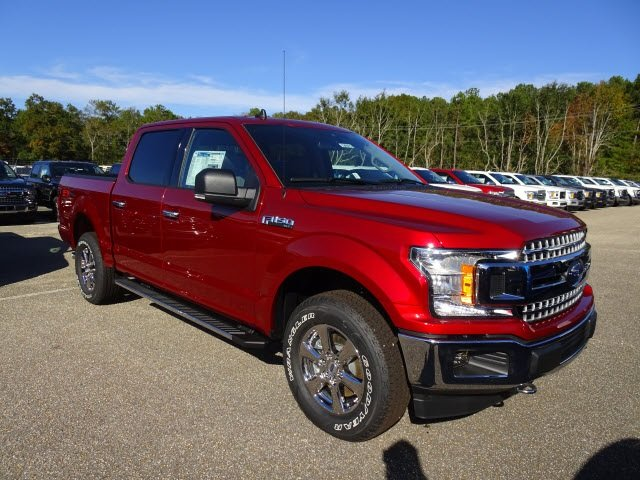 2019 Ruby Red Metallic Tinted Clearcoat Ford F-150 XLT Automatic 4 Door Truck