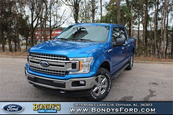 2019 Velocity Blue Ford F-150 XLT Automatic 4X4 Truck