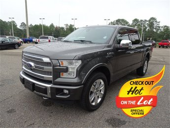 2015 Ford F-150 Platinum 4X4 5.0L V8 FFV Engine Truck Automatic 4 Door