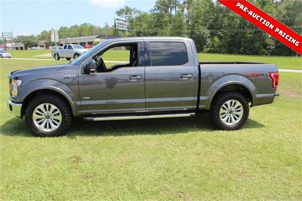 2015 Ford F-150 Lariat Truck 4 Door EcoBoost 3.5L V6 GTDi DOHC 24V Twin Turbocharged Engine 4X4