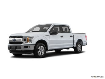 2018 Oxford White Ford F-150 XLT Automatic Truck 4X4 4 Door EcoBoost 3.5L V6 GTDi DOHC 24V Twin Turbocharged Engine