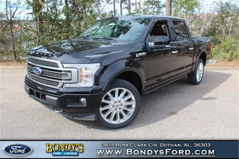 2019 Agate Black Metallic Ford F-150 Limited 4 Door EcoBoost 3.5L V6 GTDi DOHC 24V Twin Turbocharged Engine 4X4