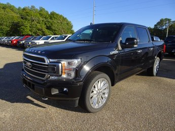 2019 Ford F-150 Limited EcoBoost 3.5L V6 GTDi DOHC 24V Twin Turbocharged Engine 4 Door Automatic
