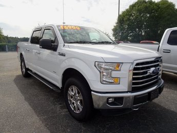 2016 Oxford White Ford F-150 XLT 4X4 4 Door Truck Automatic