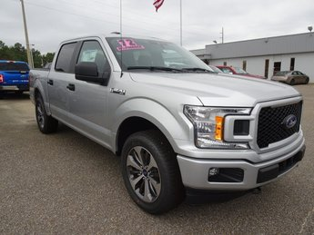 2019 Ingot Silver Ford F-150 XL Truck EcoBoost 2.7L V6 GTDi DOHC 24V Twin Turbocharged Engine 4 Door 4X4 Automatic