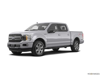 2019 Ingot Silver Ford F-150 XLT Truck 4X4 EcoBoost 2.7L V6 GTDi DOHC 24V Twin Turbocharged Engine Automatic 4 Door