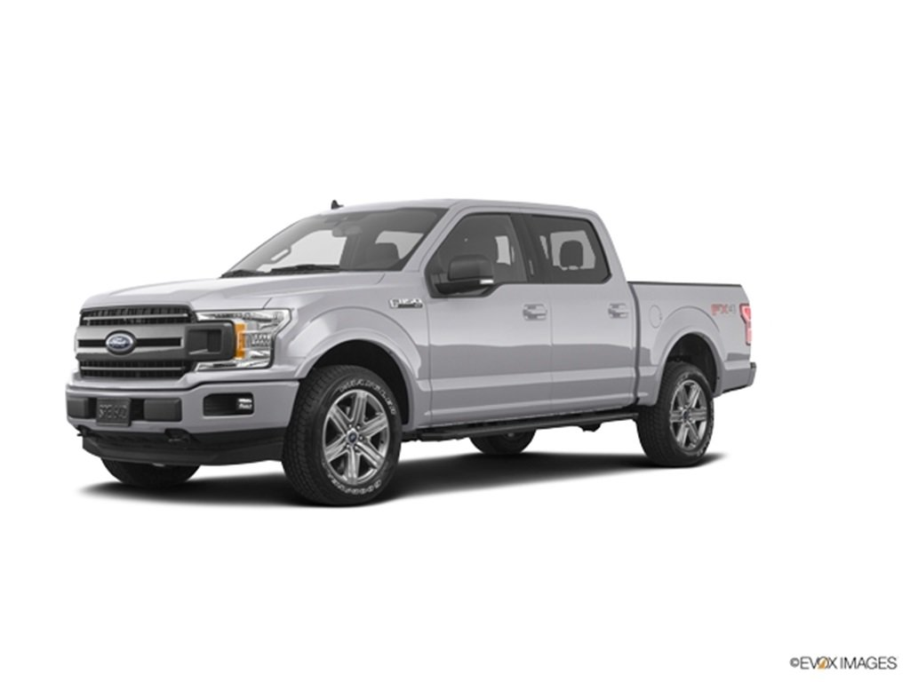 2019 Ingot Silver Ford F-150 XLT EcoBoost 2.7L V6 GTDi DOHC 24V Twin Turbocharged Engine 4 Door Truck Automatic 4X4