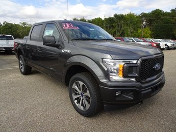 2019 Magnetic Ford F-150 XL 4X4 EcoBoost 2.7L V6 GTDi DOHC 24V Twin Turbocharged Engine 4 Door Truck