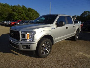 2019 Ingot Silver Ford F-150 XL 4X4 EcoBoost 2.7L V6 GTDi DOHC 24V Twin Turbocharged Engine Truck