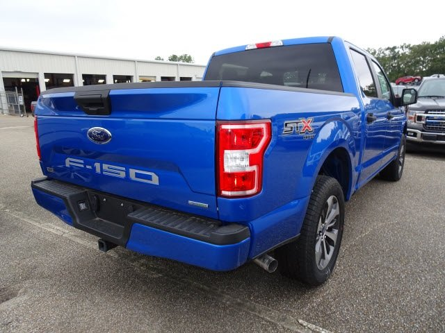 2019 Blue Metallic Ford F-150 XL 4 Door EcoBoost 2.7L V6 GTDi DOHC 24V Twin Turbocharged Engine 4X4 Truck