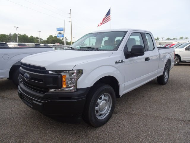 2019 Oxford White Ford F-150 XL Automatic RWD 4 Door