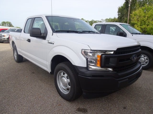 2019 Oxford White Ford F-150 XL 4 Door RWD 3.3L V6 Ti-VCT 24V Engine Automatic Truck