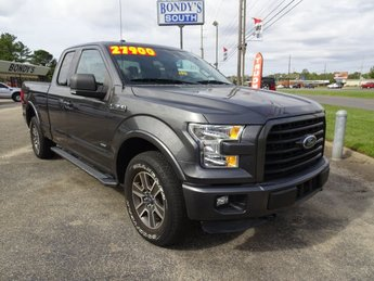 2015 Magnetic Metallic Ford F-150 XLT Automatic 4X4 Truck 2.7L V6 EcoBoost Engine 4 Door