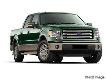 2014 White Platinum Metallic Tri-Coat Ford F-150 King Ranch 4X4 Automatic 4 Door