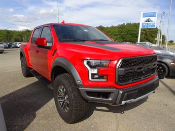 2019 Race Red Ford F-150 Raptor EcoBoost 3.5L V6 GTDi DOHC 24V Twin Turbocharged Engine Truck 4 Door Automatic