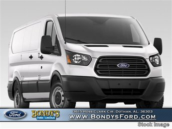 2018 Oxford White Ford Transit-250 Base RWD 3 Door Automatic Van 3.7L V6 Ti-VCT 24V Engine