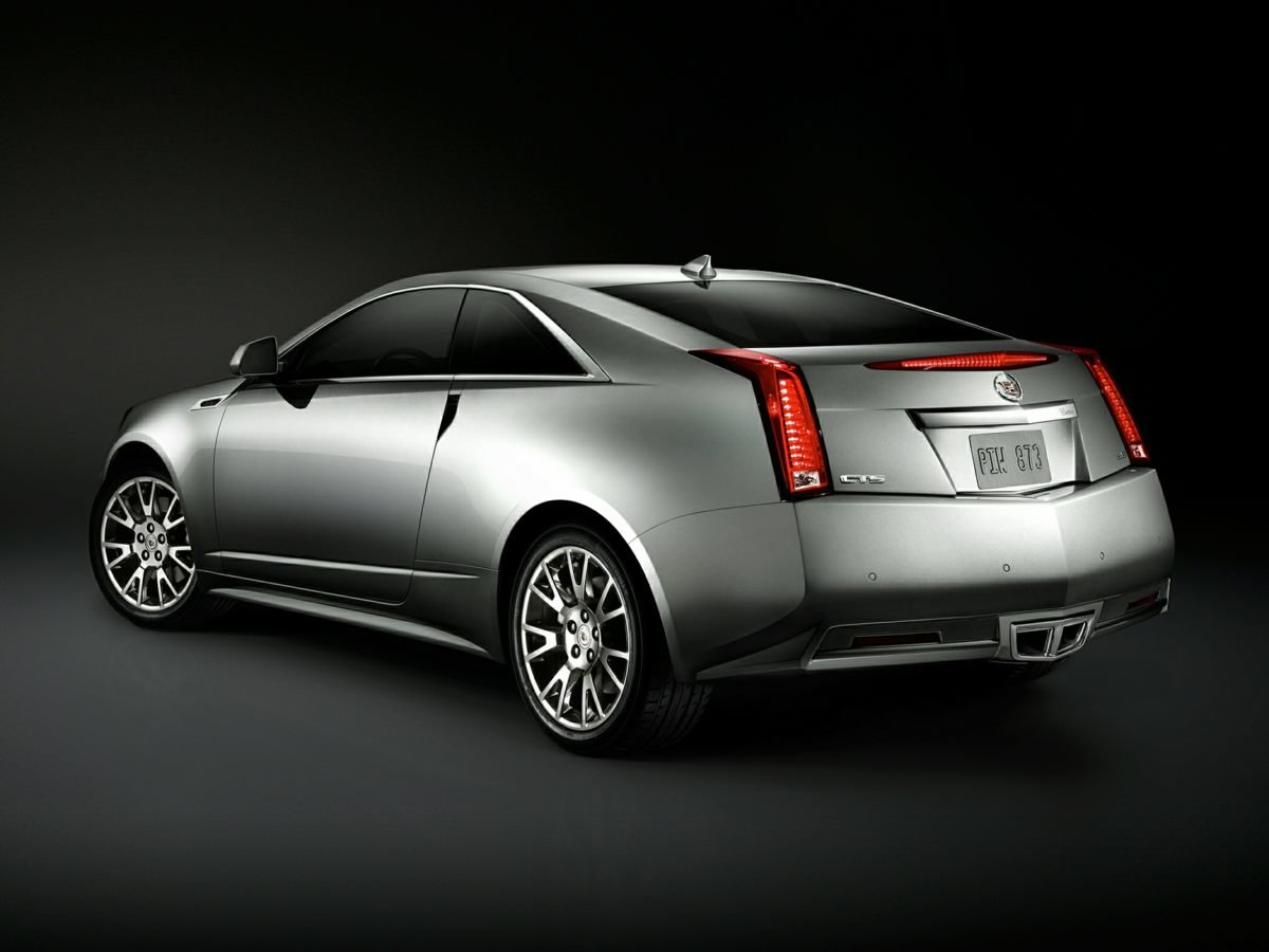 2012 Cadillac CTS Performance Coupe Automatic RWD 2 Door