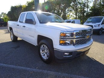 2014 Summit White Chevy Silverado 1500 LT EcoTec3 4.3L V6 Flex Fuel Engine 4 Door Automatic Truck