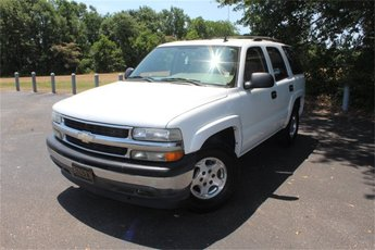 2006 Summit White Chevy Tahoe LS 4 Door RWD SUV Vortec 5.3L V8 SFI Engine Automatic