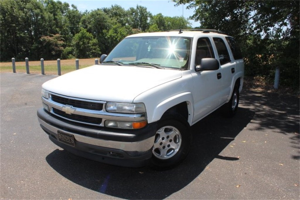 2006 Summit White Chevy Tahoe LS RWD SUV Vortec 5.3L V8 SFI Engine