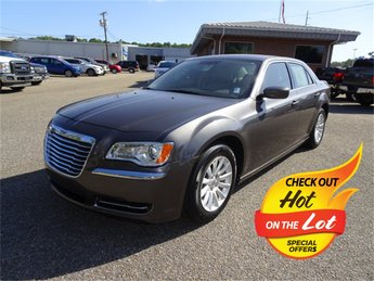 2013 granite crystal metallic Chrysler 300 Base RWD Sedan 3.6L 6-Cylinder SMPI Flex Fuel DOHC Engine 4 Door Automatic