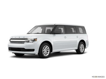 2019 Oxford White Ford Flex SE SUV 3.5L V6 Ti-VCT Engine FWD