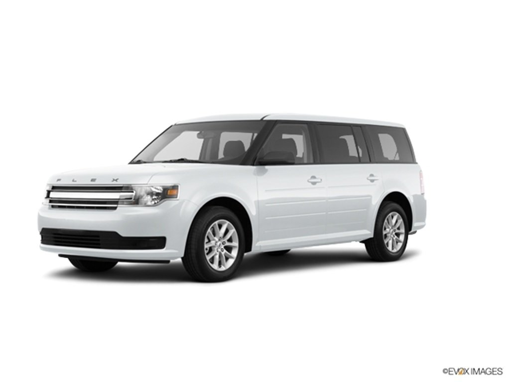 2019 Oxford White Ford Flex SE FWD Automatic 4 Door 3.5L V6 Ti-VCT Engine SUV