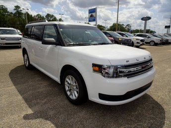 2019 Oxford White Ford Flex SE SUV 4 Door FWD 3.5L V6 Ti-VCT Engine