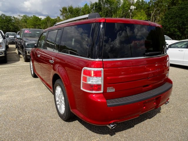 2019 Ruby Red Metallic Ford Flex SEL FWD SUV Automatic