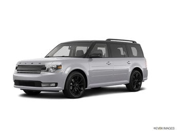 2019 Ingot Silver Ford Flex SEL 3.5L V6 Ti-VCT Engine FWD SUV 4 Door Automatic