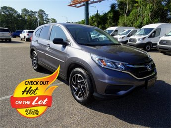 2016 Modern Steel Metallic Honda CR-V SE FWD 4 Door 2.4L I4 DOHC 16V i-VTEC Engine