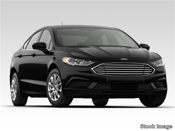 2019 Blue Metallic Ford Fusion S 2.5L i-VCT Engine FWD Automatic 4 Door Sedan
