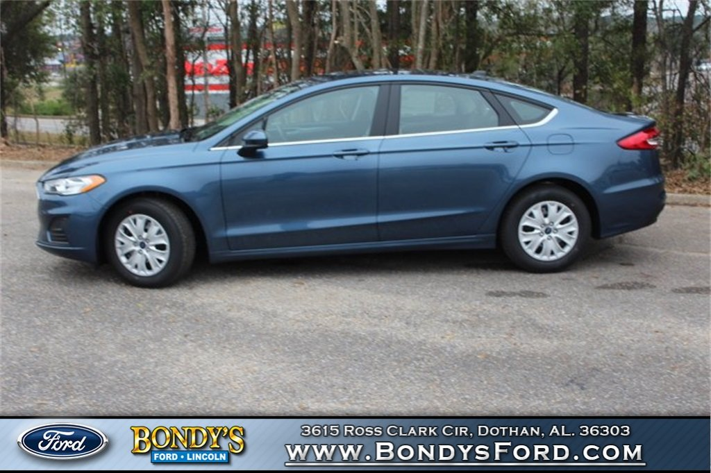 2019 Ford Fusion S FWD Automatic 2.5L i-VCT Engine 4 Door Sedan