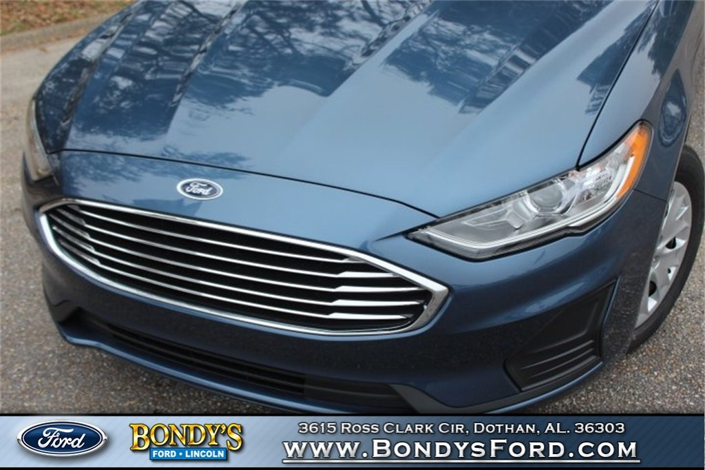 2019 Ford Fusion S FWD 2.5L i-VCT Engine 4 Door