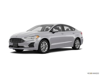 2020 Silver Metallic Ford Fusion SE EcoBoost 1.5L I4 GTDi DOHC Turbocharged VCT Engine Sedan 4 Door